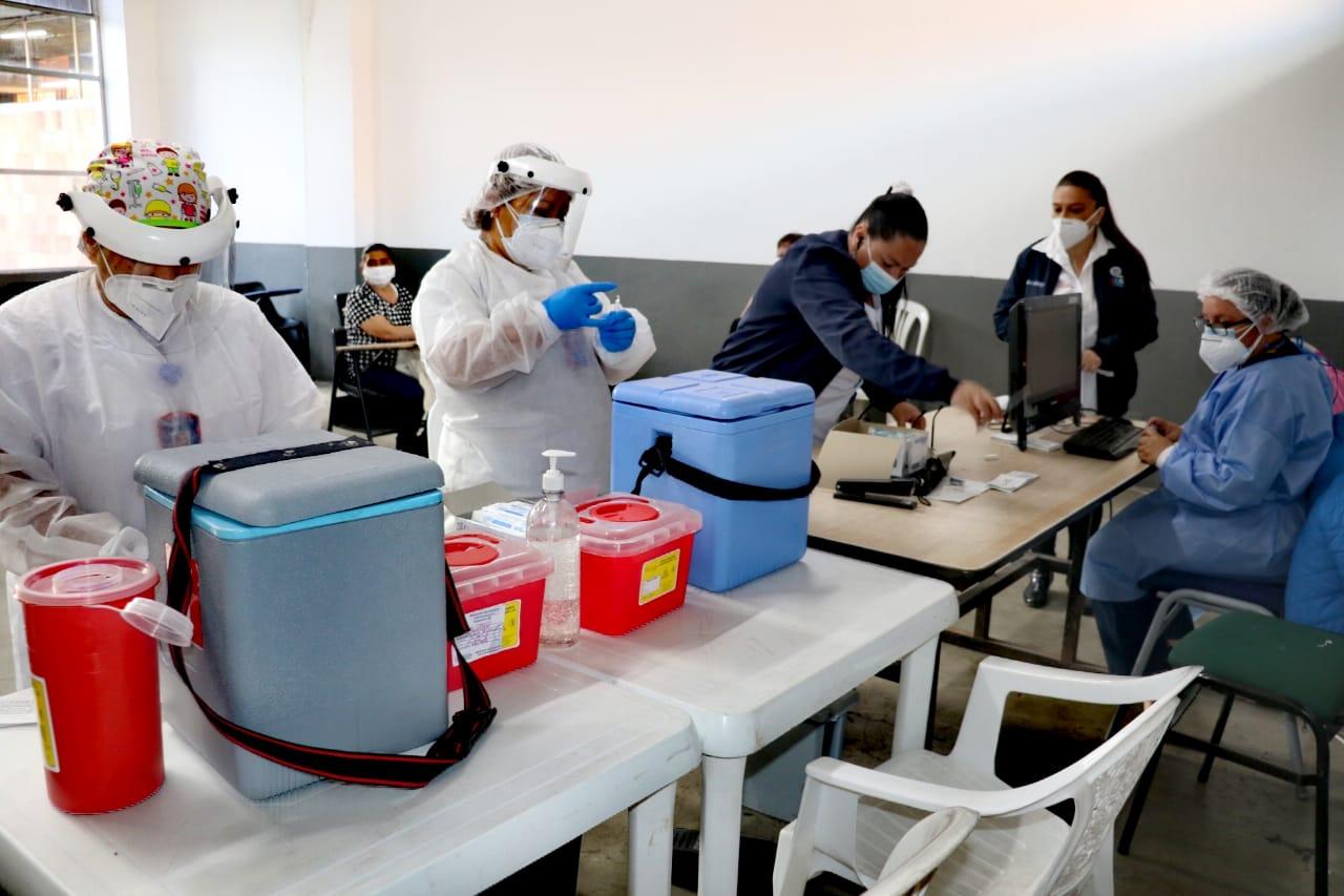 Soacha ya aplicó más de 100.000 vacunas contra el COVID-19 - Noticias de Colombia