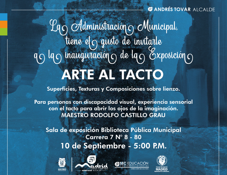 Madrid inaugurará exposición de pintura para personas con discapacidad visual - Noticias de Colombia